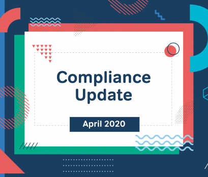 Compliance Update April 2020